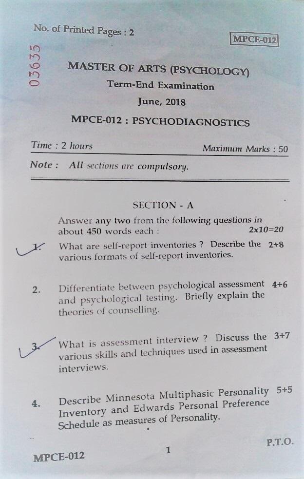 MPCE-012 June 18 Question Paper - MAPC Help